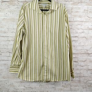 BANANA REPUBLIC BUTTON SHIRT SZ XXL